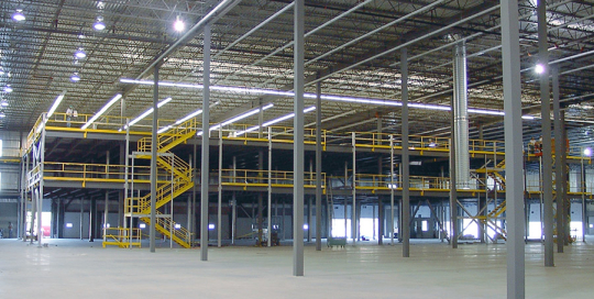 Multi-Level Mezzanine for Aldo