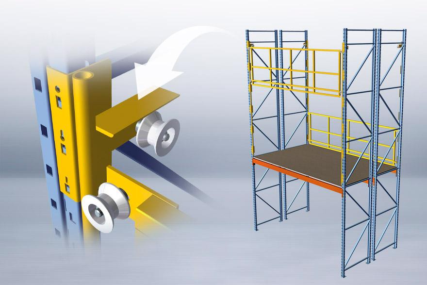 COSME's Structa-Mezz: mezzanine system detail